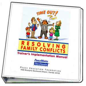 Resolving Family Conflicts Trainer's Implementation Manual
