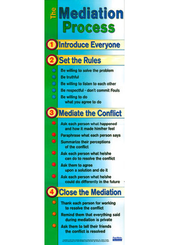 Mediation Process Poster