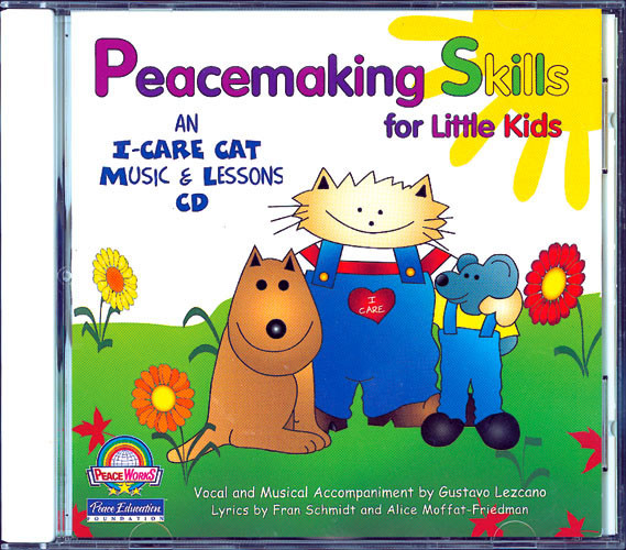 Peacemaking Skills for Little Kids Music CD