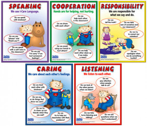 Peacemaking Skills Poster Pack