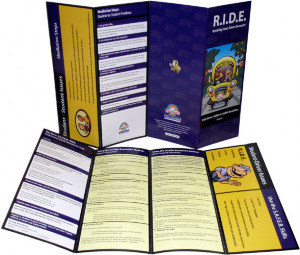 R.I.D.E. Additional Participant Reference Guides set of 25